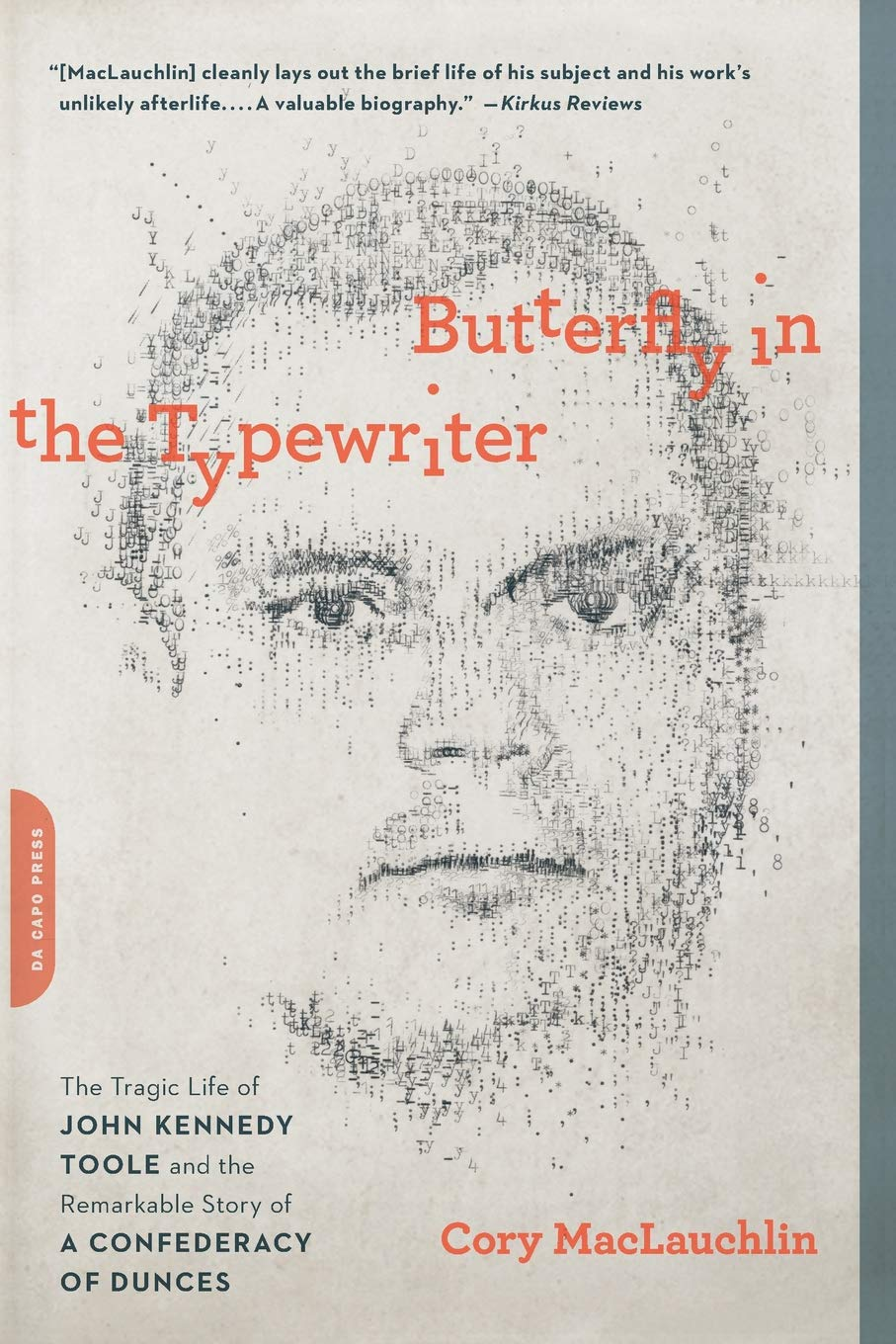 Butterfly in the Typewriter, Cory MacLauchlin
